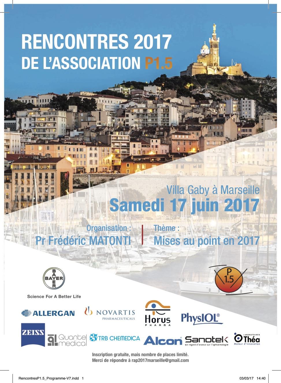 Rencontre 2017 de l 39 association p1 5 provence vision - Vision plus salon de provence ...